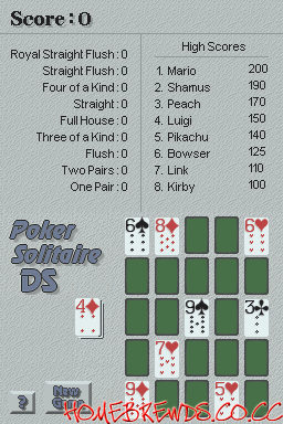 PokerSolitaireDS